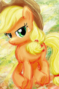 5D Diamond Painting My Little Pony AppleJack Water Color Kit