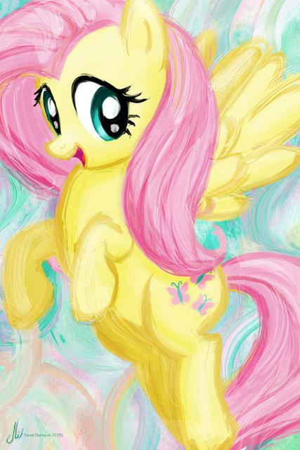 5D Diamond Painting My Little Pony Fluttershy Water Color Kit