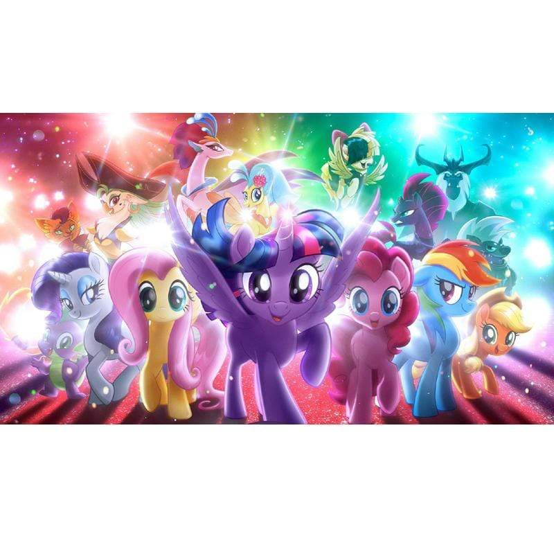 5D Diamond Painting My Little Pony in Lights Kit