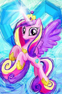 5D Diamond Painting My Little Pony Painted Princess Celestia Kit