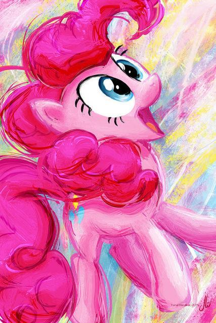 5D Diamond Painting My Little Pony Pinkie Pie Water Color Kit