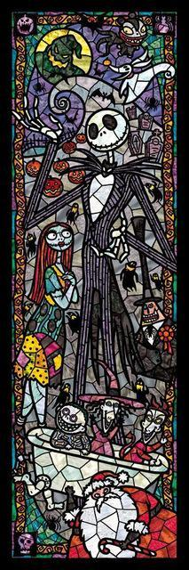 5D Diamond Painting Nightmare Before Christmas Vertical Kit