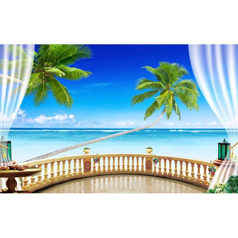 5D Diamond Painting Ocean View Kit