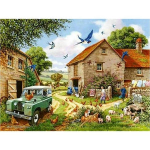 5D Diamond Painting Old Farm House Kit