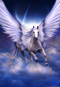 5D Diamond Painting Pegasus on the Clouds Kit