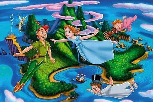 5D Diamond Painting Peter Pan and Neverland Kit
