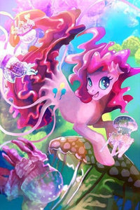 5D Diamond Painting Pinkie Pie Mermaid Pony Kit