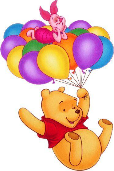 5D Diamond Painting Pooh and Piglet Balloon Ride Kit