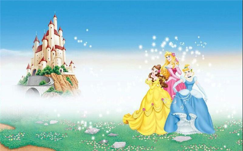 5D Diamond Painting Princess and the Castle Kit