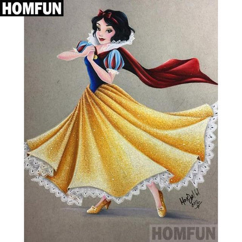 5D Diamond Painting Princess Snow White Kit