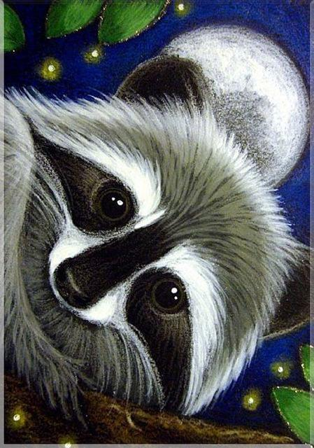 5D Diamond Painting Raccoon Kit
