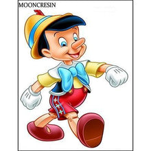 5D Diamond Painting Real Boy Pinocchio Kit