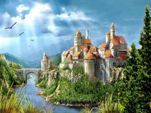 5D Diamond Painting Riverside Kingdom Kit