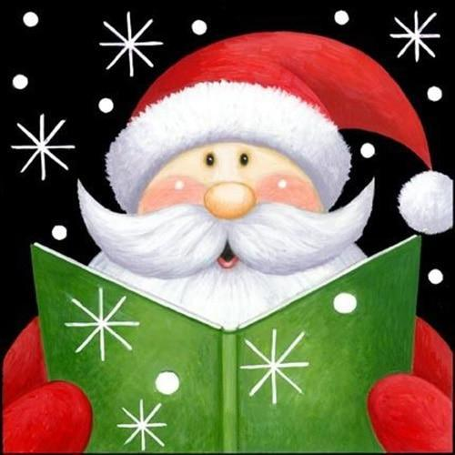 5D Diamond Painting Santa Carolling Kit