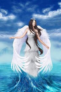 5D Diamond Painting Sea Angel Kit