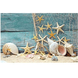 5D Diamond Painting Sea Shells Kit