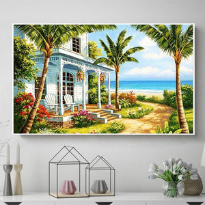5D Diamond Painting Sea Side Porch Kit