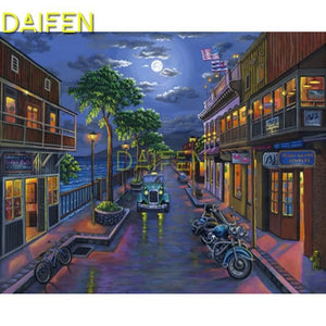 5D Diamond Painting Seaside Bar and Grill Kit