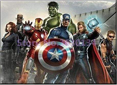 5D Diamond Painting Seven Avengers Kit