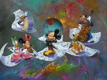 5D Diamond Painting Sheet Music Mickey Kit