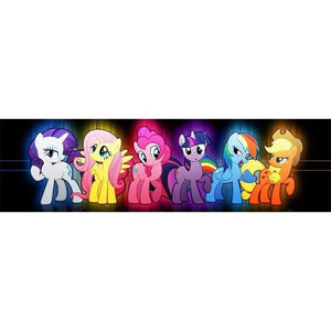5D Diamond Painting Six My Little Ponies Kit