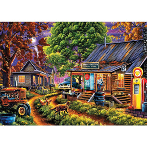 5D Diamond Painting Sleepy Hollow General Store Kit
