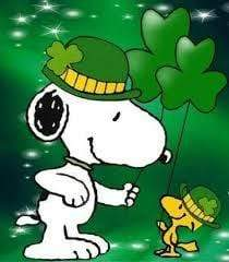 5D Diamond Painting Snoopy Four Leaf Clover Kit