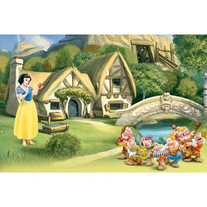 5D Diamond Painting Snow White Apple Kit