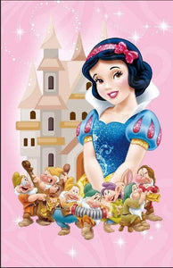 5D Diamond Painting Snow White Castle Kit