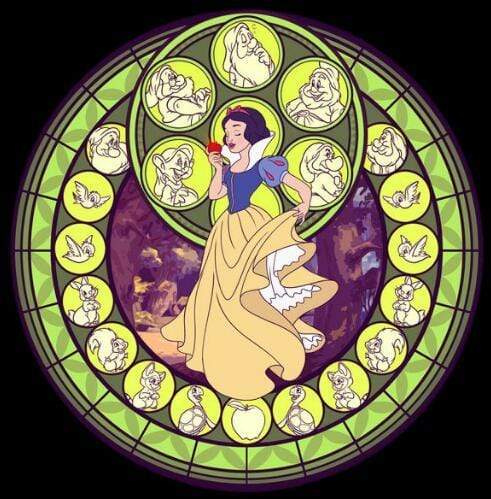 5D Diamond Painting Snow White Circle Kit