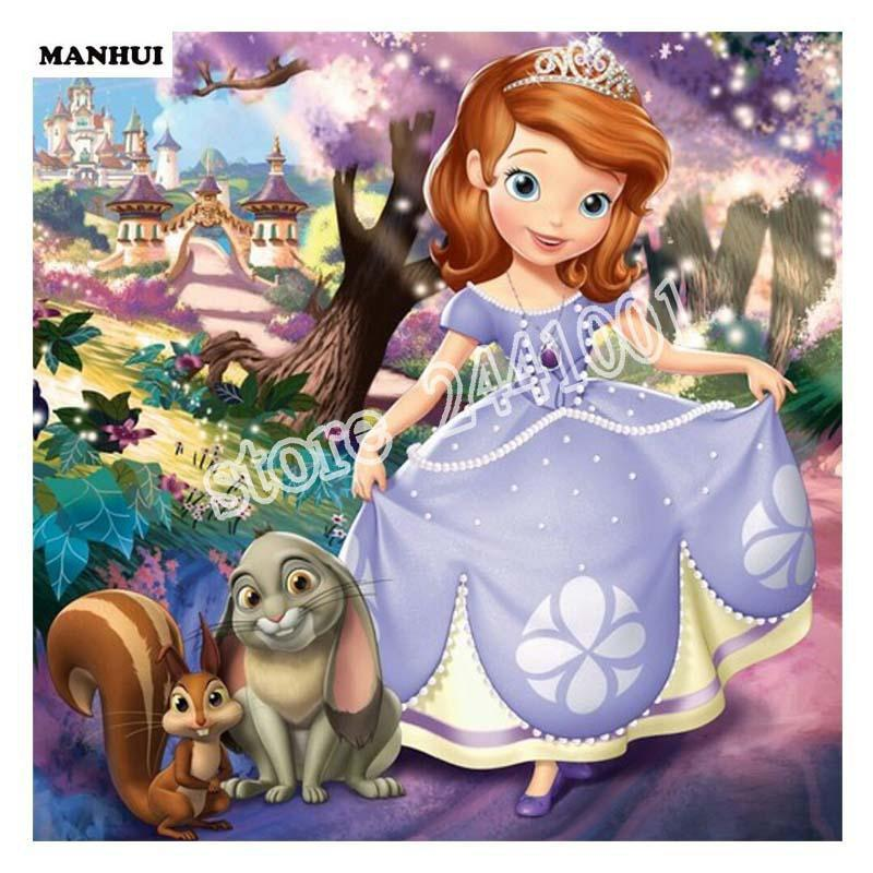 5D Diamond Painting Sofia the First Kit