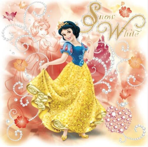5D Diamond Painting Sparkling Snow White Kit