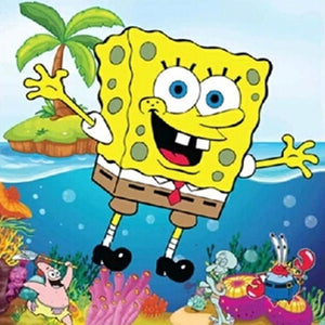 5D Diamond Painting Sponge Bob Square Pants Kit