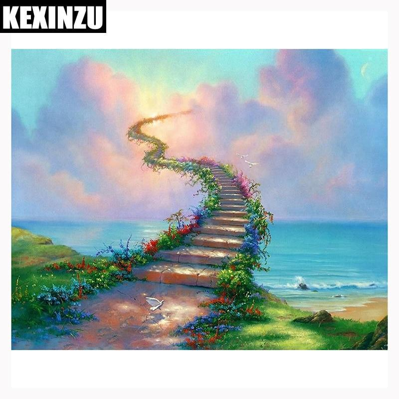 5D Diamond Painting Stairway to Heaven Kit