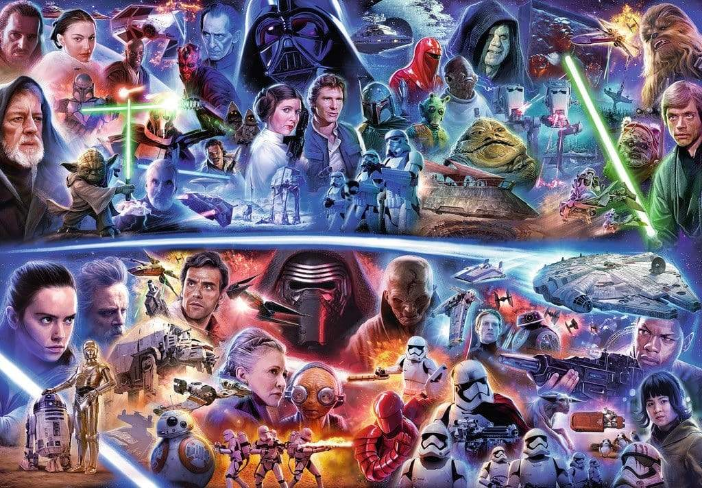 5D Diamond Painting Star Wars Collage Kit