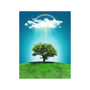 5D Diamond Painting Sunlight Tree Kit