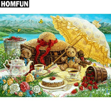 5D Diamond Painting Sunny Day Picnic Kit
