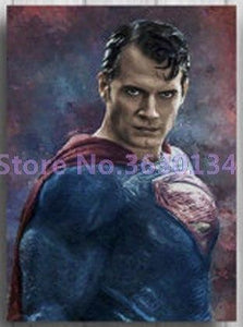 5D Diamond Painting Superman Close Up Kit