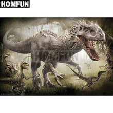 5D Diamond Painting T Rex Dinosaur Kit