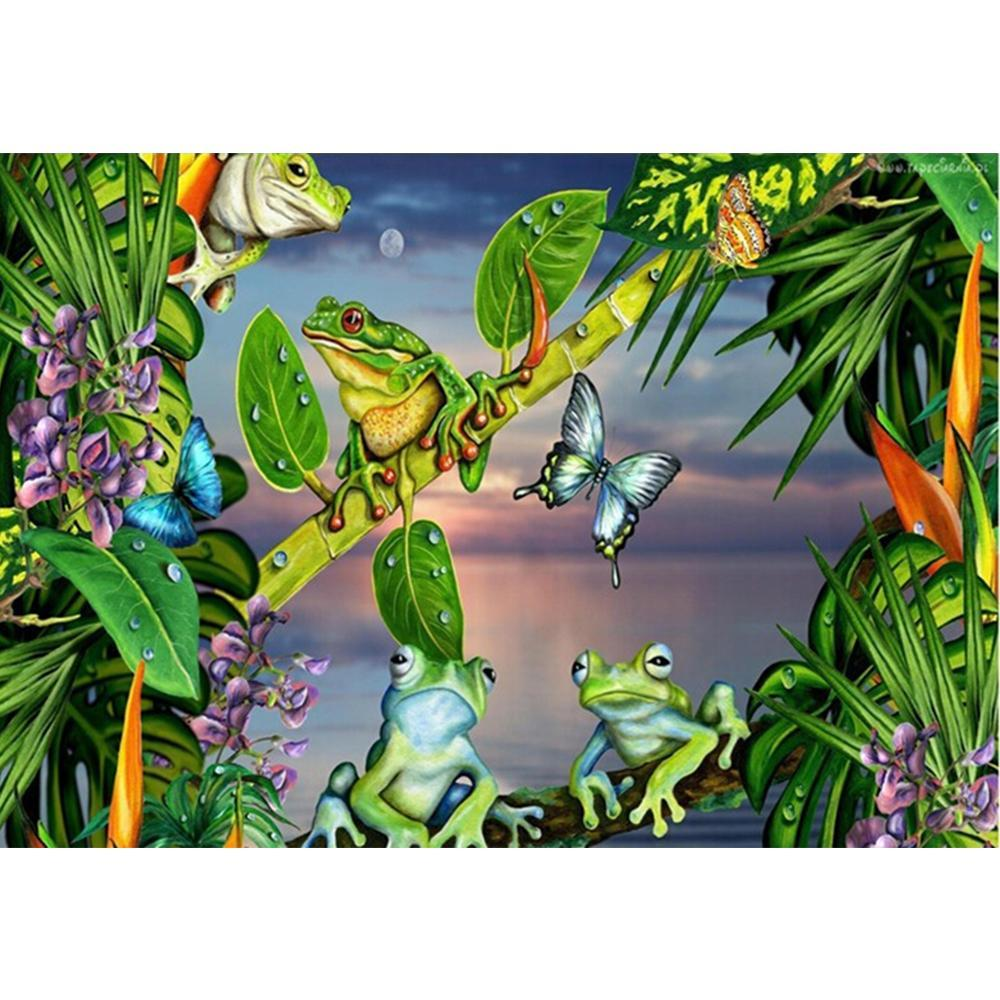 5D Diamond Painting The Frogs Kit