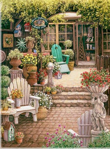 5D Diamond Painting The Garden Shop Kit