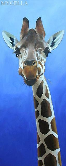 5D Diamond Painting The Giraffe Kit