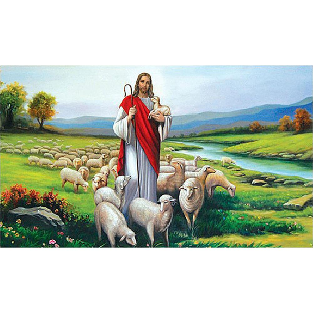 5D Diamond Painting The Lord is my Shepherd Kit
