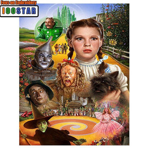 5D Diamond Painting The wonderful Wizard of Oz Kit