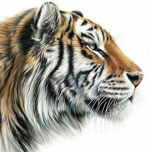 5D Diamond Painting Tiger Kit