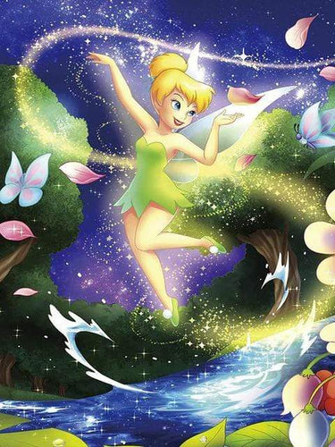 5D Diamond Painting Tinkerbell Magic Kit