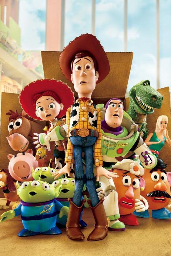 5D Diamond Painting Toy Story Woody and Friends Kit