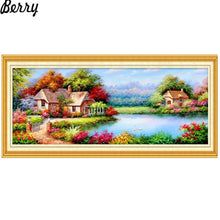 5D Diamond Painting Tranquil Lake Kit