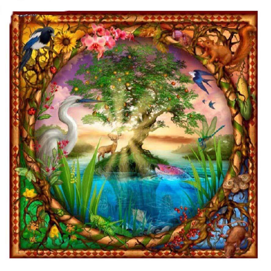 5D Diamond Painting Tree of Life Kit