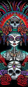 5D Diamond Painting Triple Skull Kit